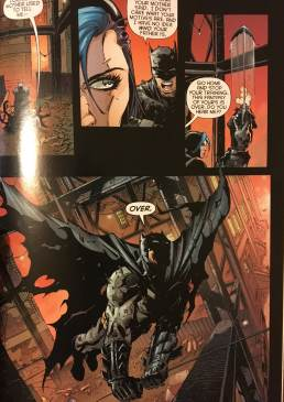Batman scolds Harper