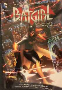 Batgirl, Volume 5: Deadline Cover