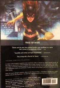 Batgirl, Volume 5: Deadline Rear