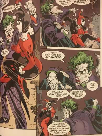 Joker and Harley Quinn No Mans Land