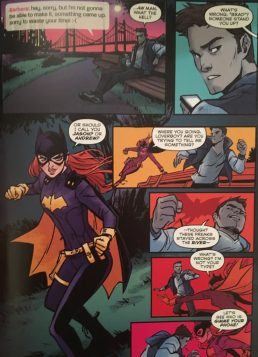 Batgirl New 52 Second Phase Art