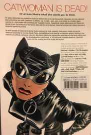 Catwoman Trail of the Catwoman Rear