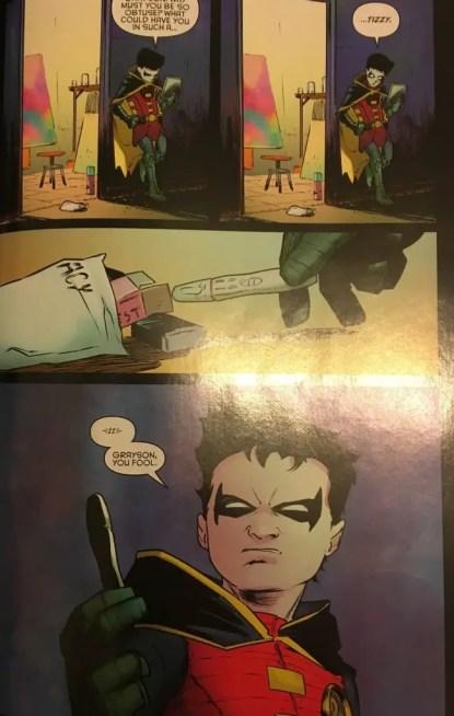 Damian Wayne Nightwing Must Die