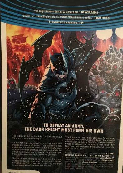 Batman Detective Comics Rise of the Batmen Rear