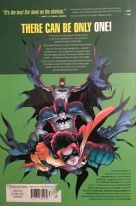 Batman & Robin Batman Must Die Rear