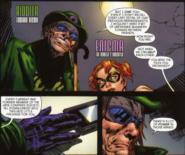 Riddler and Enigman