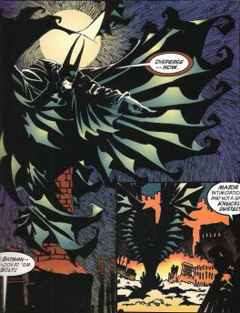Kelley Jones Batman Contagion Look