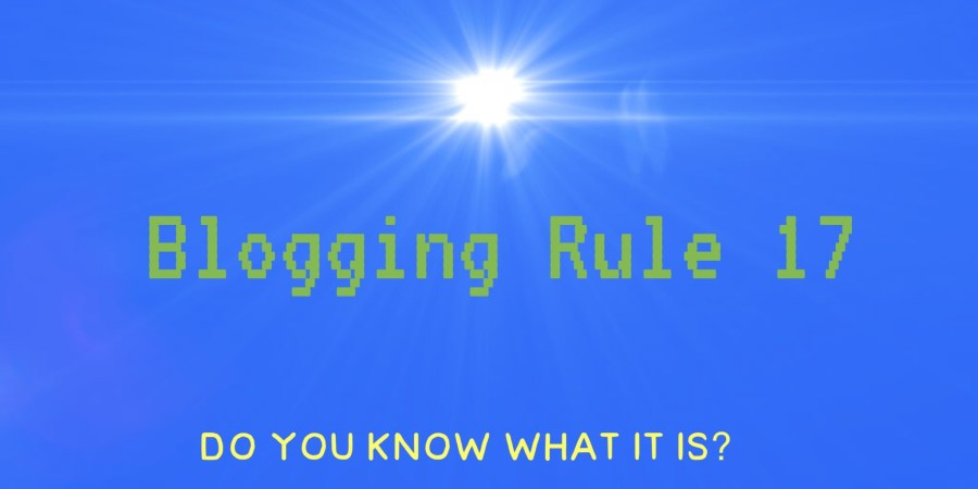 Blogging Rule 17. Know Your Audience