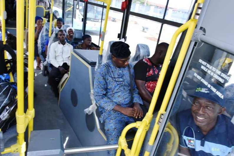 New Lagos Buses