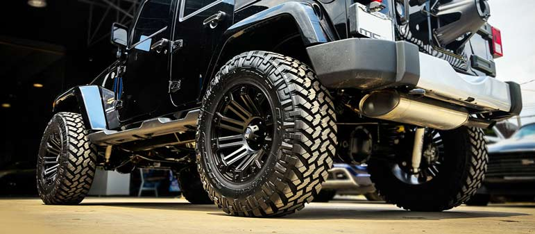 Power wheels off road wheel and rims package