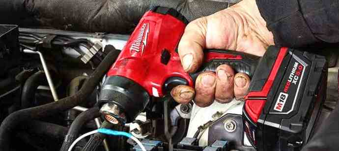 Battery Powered Heat Gun