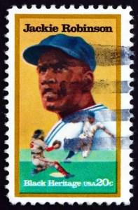Tribute to Baseball legend Jackie Robinson from Sand Artist Joe Castillo