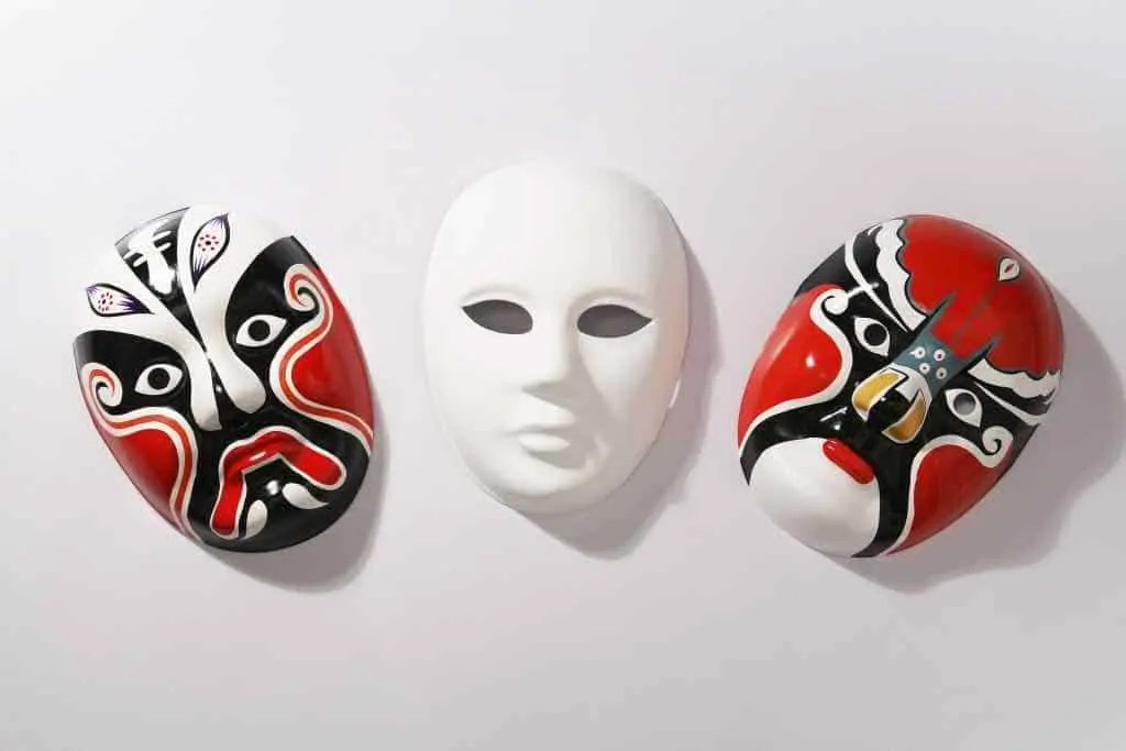 mask, face, party