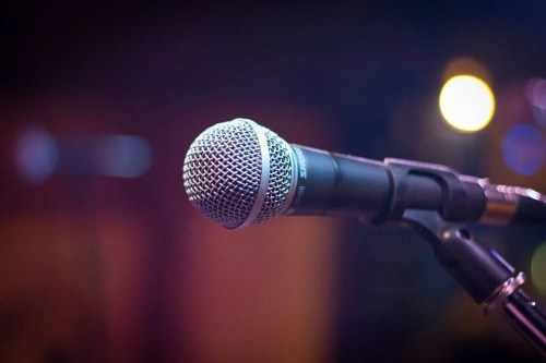 mic, stage, event
