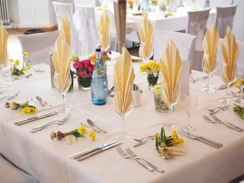 table, banquet, meal, food, gala, glasses