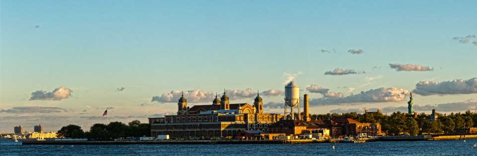 Ellis-Island-and-Statue-of-Liberty-Pano