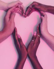 hands heart love