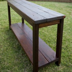 Pine Sofa Tables Cane Furniture Online Reclaimed Console Table The Grain
