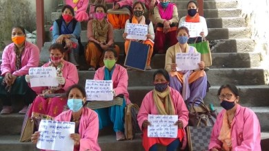 Asha demonstrated their demands and sent a memorandum to the Chief Minister