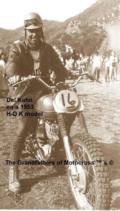 1953 SPECIAL #16 Del Kuhn on HD at Crater Camp - Copy