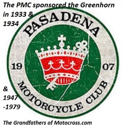 103- Greenhorn sponsored by Pasadena MC