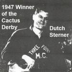 1947 11-30 a0 Cactus Derby winner DUTCH STERNER