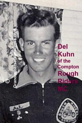 1947 Del Kuhn, a member of the Compton Rough Riders MC - Copy