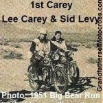 1948 10-10 Cactus Derby WINNER Lee Carey 1951 BB Lee Carey & Sid Levy