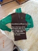 1948 b4 Del Kuhn HillToppers mc sweater