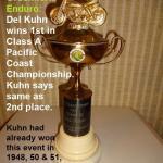 Del Kuhn, Pacific Coast Champ