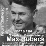 1962 Greenhorn Winner, Max Bubeck & also won 1947