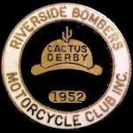 1952 a1 Cactus Derby lapel pin