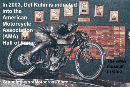 00 Del Kuhn, AMA inducted 2003, the musem