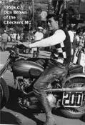 72- Checkers MC motorcycle club, with DON BROWN