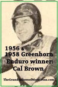 1958 Greenhorn, Cal Brown