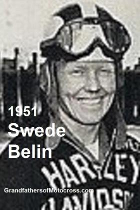 Belin, Swede a1 1951, especially good in side car events