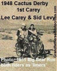 Carey, Lee 1948 Cactus Derby WINNER photo from 1951 BB & Sid Levy