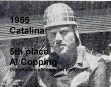 Copping, Al 1955 Catalina 5th place
