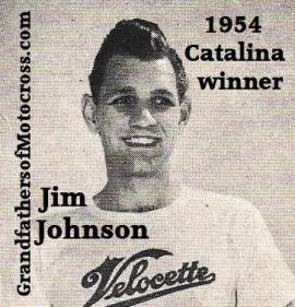 Johnson, Jim 1954 Catalina winner