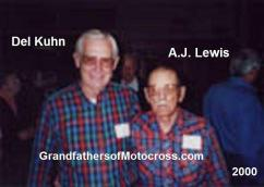 Lewis, A.J. 2000, a legendary tuner & mechanic & Kuhn, Del