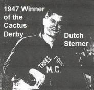 Sterner, Dutch 1947 Cactus Derby winner