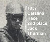Thurman, Jack 1957 Catalina 2nd place