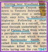 1947 4-20 a5 6th Seacoast sweepstakes race, Woodland Hills, Rattlesnake Ranch (2)