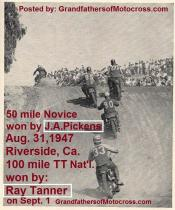1947 9-1a12 Ray Tanner wins TT Pickens, Tom Turner, Bud Hogan, Jimmy Phillip, Stan Irons - Copy (2)
