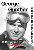 1949 3-20 a35 English Trials winner GEORGE GUNTHER, Royal Riders at Lakeland Park