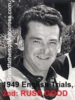 1949 3-20 a36 English Trials 2nd place, Russ Good Royal Riders at Lakeland Park