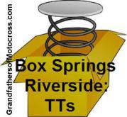 1950 00 Box Springs in Riverside TT in various classes, must have special AMA card to compete