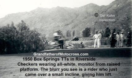 1950 4-2 a10e Box Springs TT, Box Springs racing