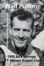 1950 4-2 a11 Box Springs TT, won EXPERT, Walt Fulton