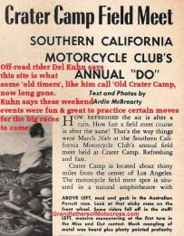 1950 6-0 CC10b Old Crater Camp story